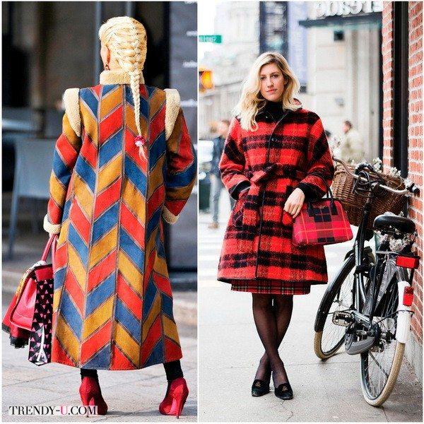 Модный уличный стиль зимой 2015-2016