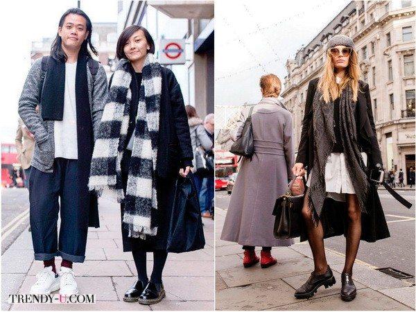 Кэжуал и оверсайз от уличных модников и модниц