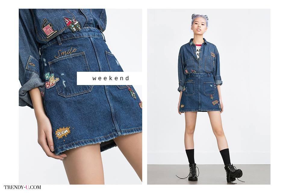 Модный лук Total Denim - в джинсе с головы до ног!