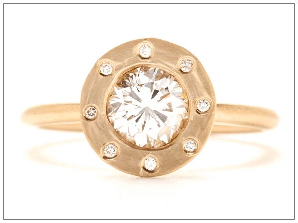 Стильное помолвочное кольцо Rebecca Overmann Prefall 2016