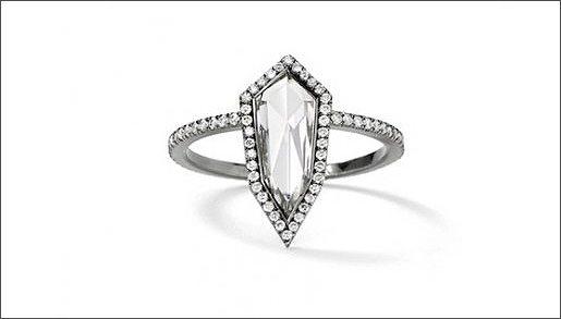 Дорогие ювелирные украшения: помолвочное кольцо Eva Fehren