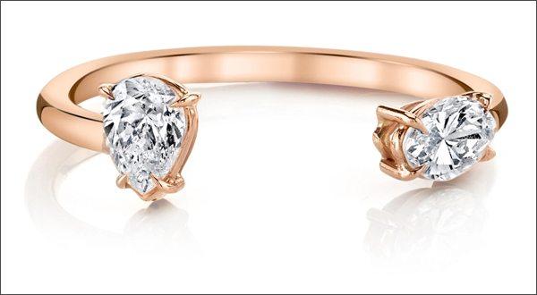 Модные дорогие ювелирные украшения 2016: кольца помолвочные