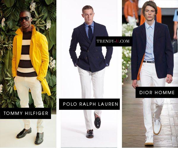 Модные мужские брюки весна-лето 2016