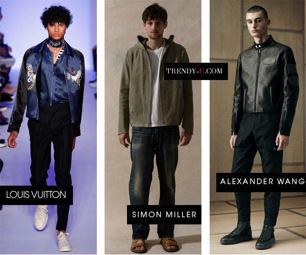 Модная мужская одежда весна 2016: куртки бомберы