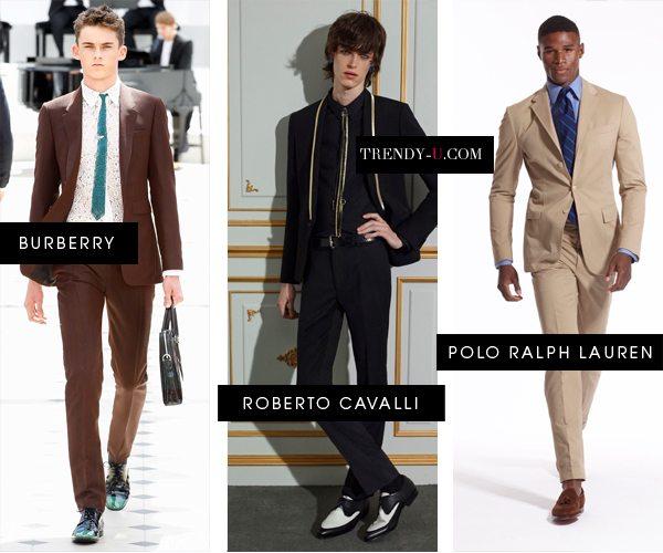 Модные мужские костюмы весна-лето 2016
