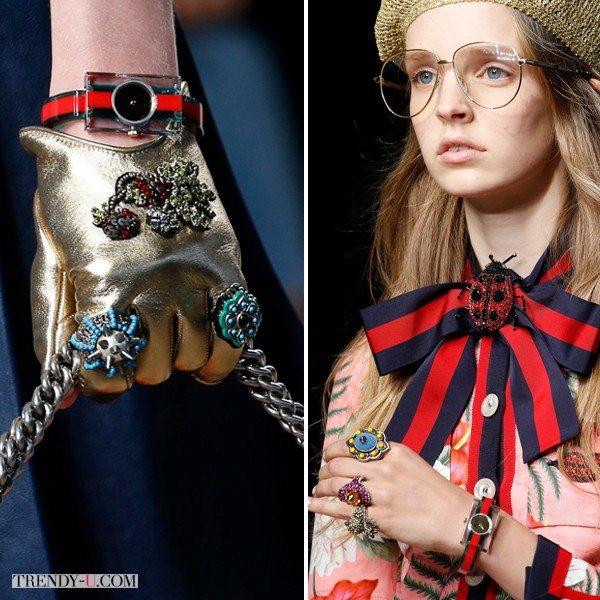 Модные часы от Gucci весна-лето 2016