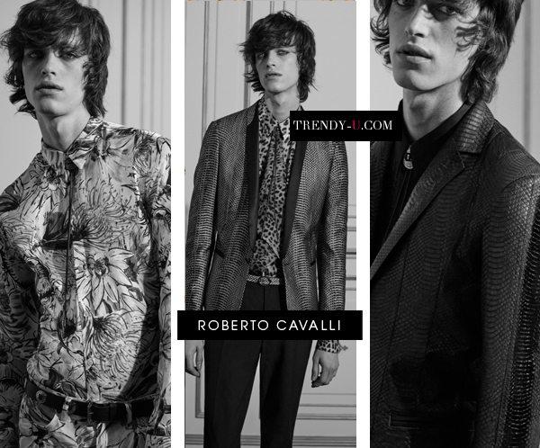 Мужская мода от Roberto Cavalli: пиджак и блейзер
