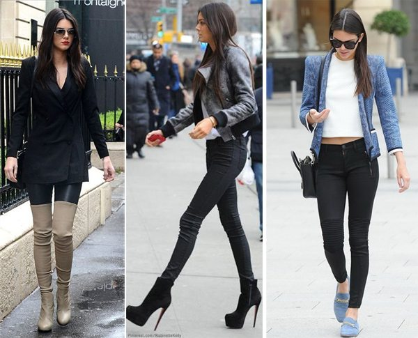 Повседневные образы Kendall Jenner