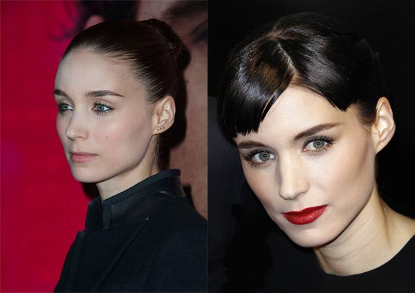 Руни Мара: челка и макияж способны изменить внешность