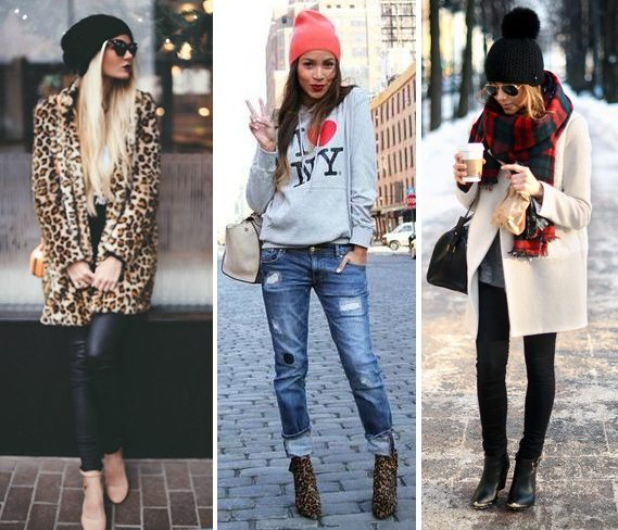 Шапка бини, она же шапка-носок - неотъемлемая составляющая модного look'а