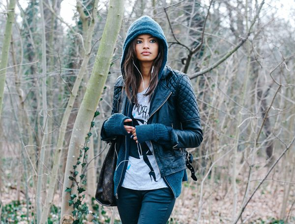 Парка, куртка, джинсы, сумка Louis Vuitton