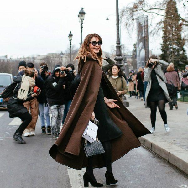 Гостья показов Spring 2016 Couture