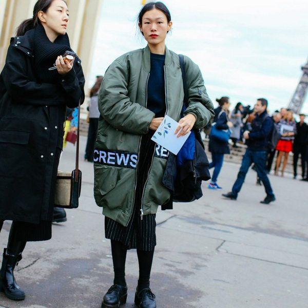 Уличный стиль Парижа 2016
