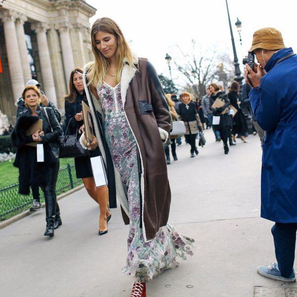 Veronica Heilbrunner в платье Alexander McQueen 2016