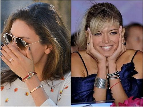 Мила Кунис и Вера Брежнева стильно смотрятся с браслетами из красной нитки
