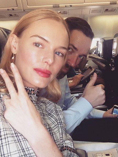 Кейт Босуорт с макияжем стробинг
