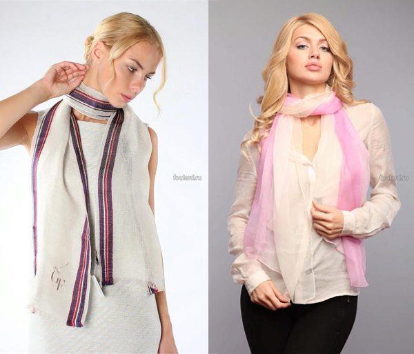 Модные шарфы для стильных образов