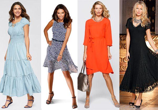 Модные платья весна-лето 2016 для любой фигуры и комплекции