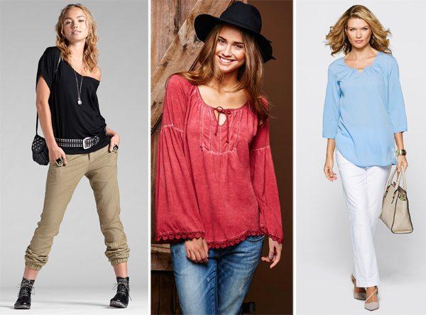 Модные блузки для весны и лета 2016