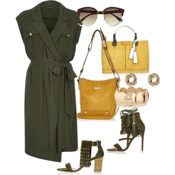 Платье Ривер Айленд в стиле сафари