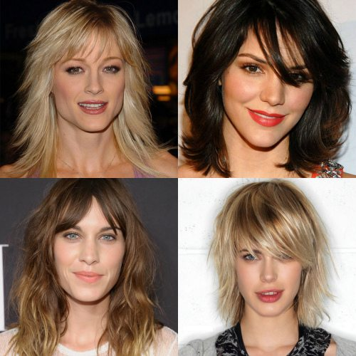Каскадные стрижки для средних волос