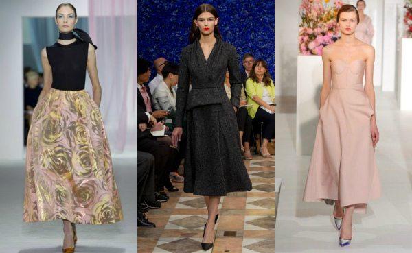 Новый New Look от Рафа Саймонса для Christian Dior