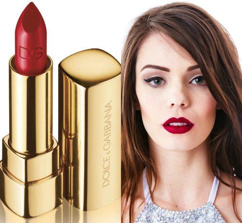 Легендарная Scarlett от Dolce & Gabbana Classic Cream Lipstick