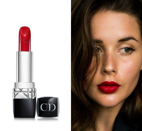 Классический красный оттенок Iconic 999 от Dior Rouge Dior