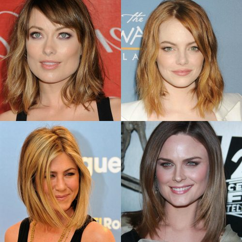 Волосы средней длины практически не требуют к себе внимания