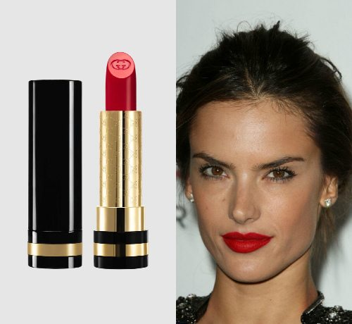 «Правильный» красный цвет Iconic Red от Gucci Luxurious Moisture-Rich Lipstick