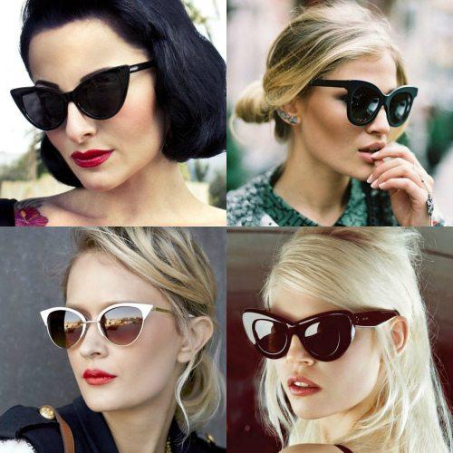 Солнцезащитные очки cat eyes — элемент образа New Look