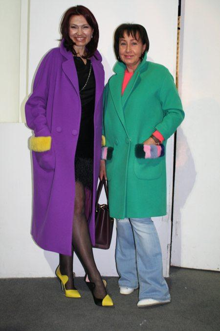 Модницы выходят в цвет