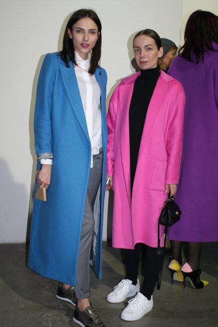 Модные гостьи украинской недели моды в Киеве