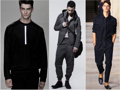 Минимализм в мужской одежде - минимум цвета и деталей