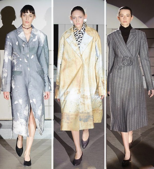 пальто и плащи от бренда Bevza сезона осень-зима 2016-2017