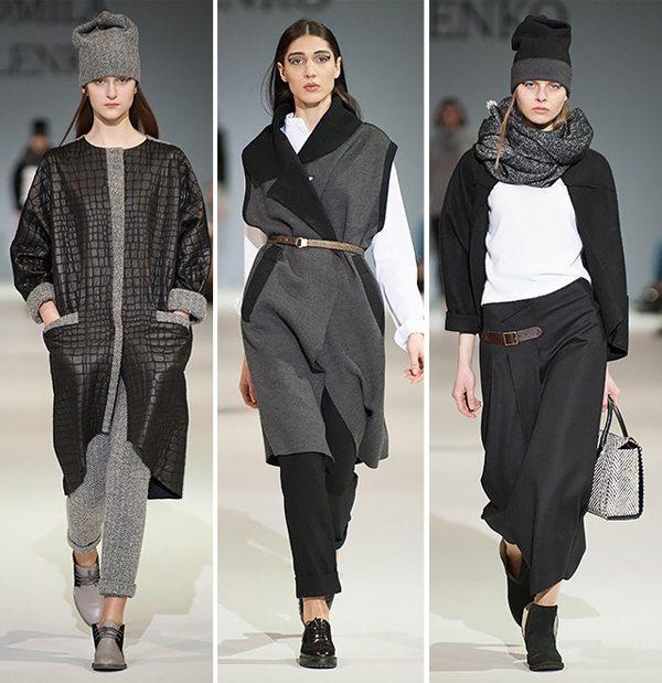 Стильная одежда для осени и зимы 2016-2017 от украинского дизайнера Людмилы Кисленко