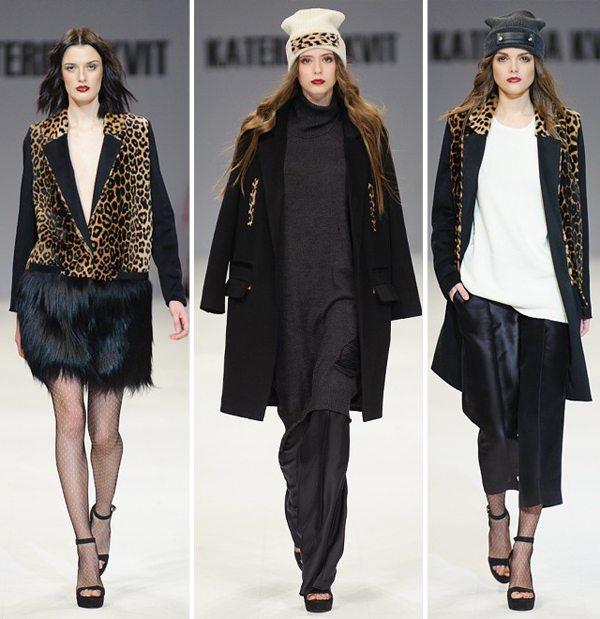 Стильная одежда от украинских дизайнеров для осень и зимы 2016-2017