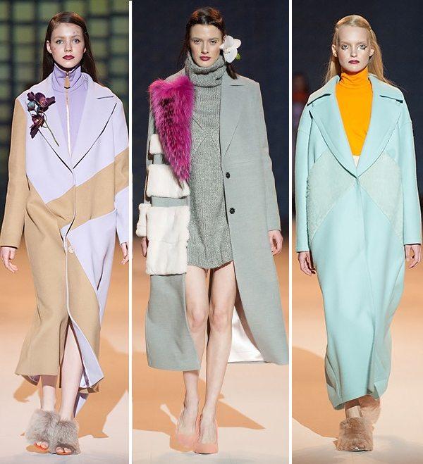 Пальто оверсайз от дизайнера Andre Tan