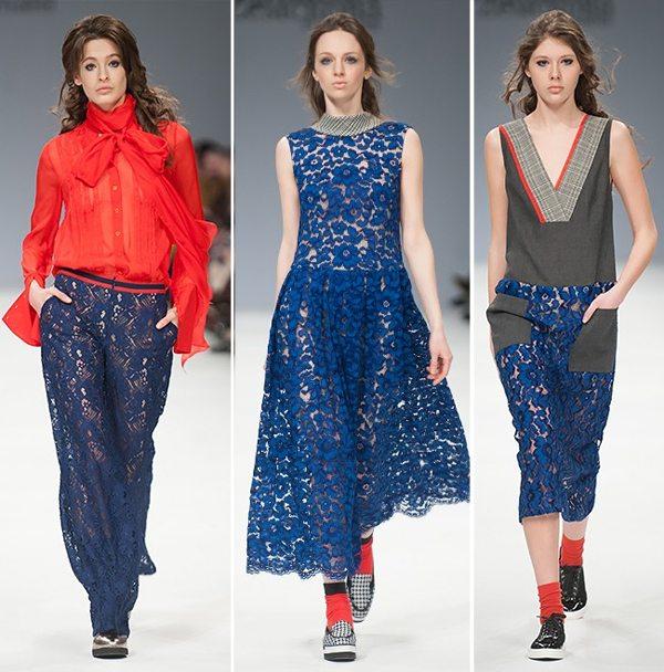 Модная одежда для осени и зимы 2016-2017 от Vorozhbyt & Zemskova