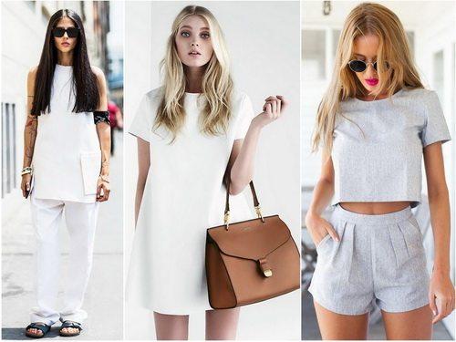 Простой крой и лаконичность одежды в стиле минимализм