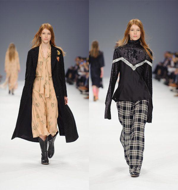 Пальто оверсайз, платье в стиле бохо, брюки в клетку
