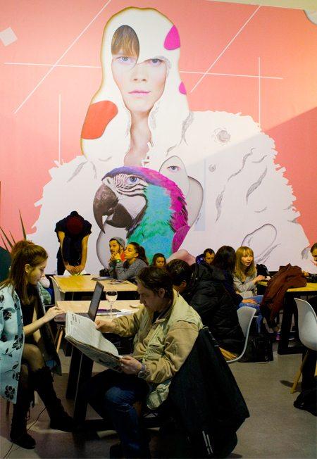 Пресс-центр Ukrainian Fashion Week