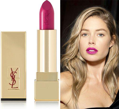 Дерзкая фуксия от YSL Rouge Pur Couture в оттенке No. 19 Fuchsia