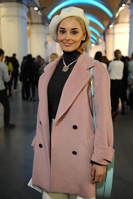 Гостья 38-й украинской недели моды Ксения Кузьменко