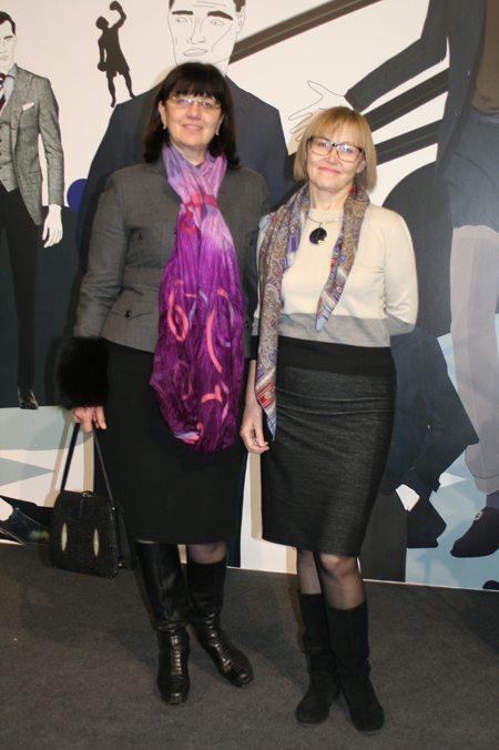 Гостьи показов на 38-й Ukrainian Fashion Week