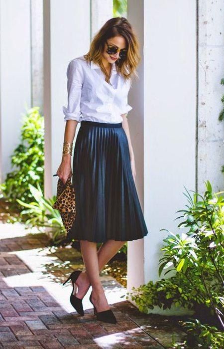Black Skirts  Long amp Short Printed Black Skirts For Women