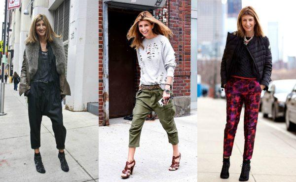 Сара Ратсон очень любит образы с брюками