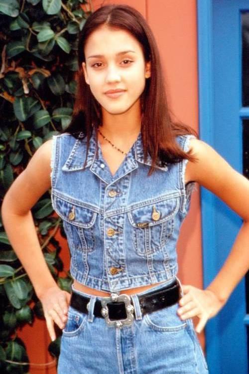 Джессика Альба в 1996 году (15 лет)