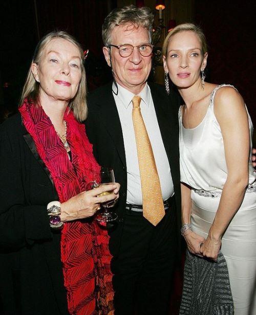 Ума Турман с матерью-психотерапевтом и отцом-профессором