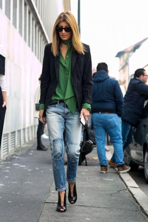 Модный образ женщины среднего возраста